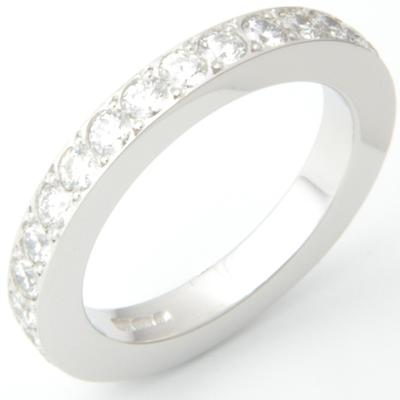 Platinum Fully Set Diamond Wedding or Eternity Ring 2.jpg