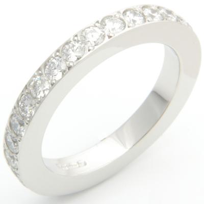 Platinum Fully Set Diamond Wedding or Eternity Ring 1.jpg