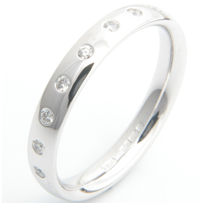 18ct White Gold Rub Set Diamond Wedding Ring 1.jpg