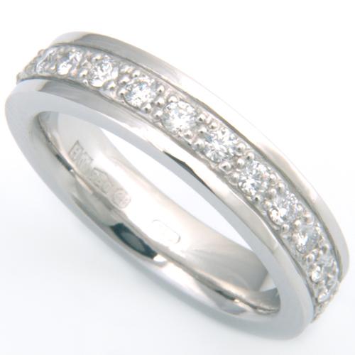 Platinum 3mm Wedding Ring with Diamonds 2.jpg