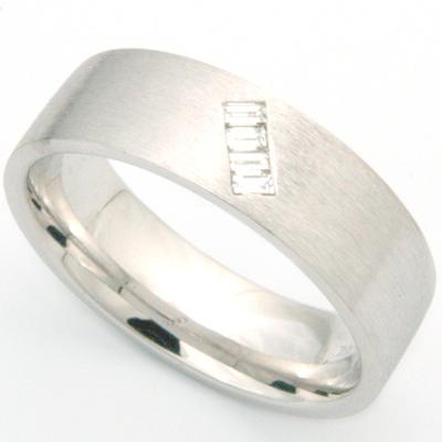 Platinum Baguette Diamond Satin Wedding Ring.jpg