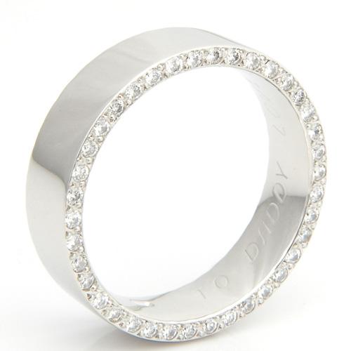 Platinum Diamond Set Edge Ring.jpg