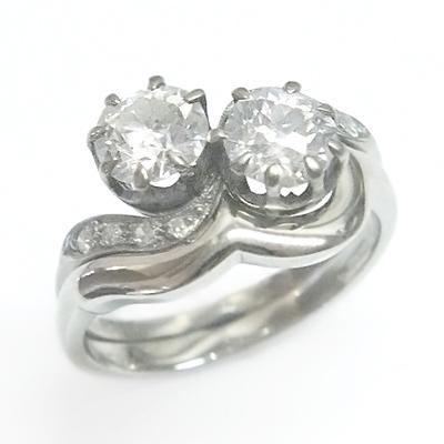 Platinum Fitted Wedding Ring for Swirl Diamond Engagement Ring 1.jpg