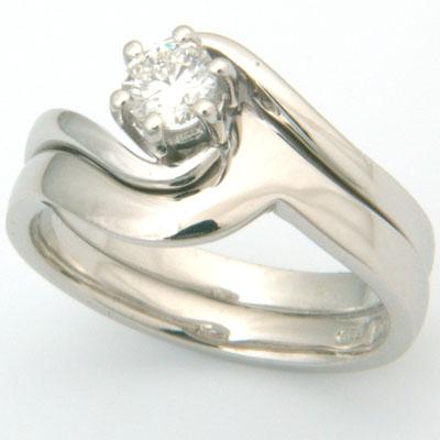 Palladium Swirl Fitted Wedding Ring 2.jpg