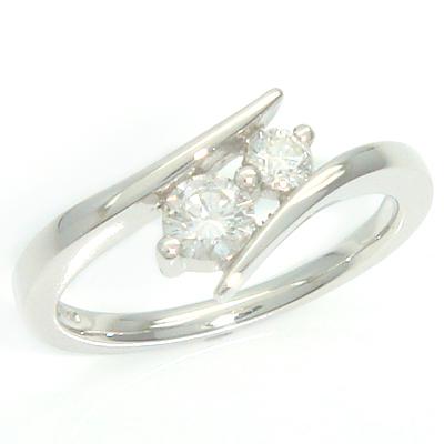 Platinum Round Brilliant Cut Diamond Engagement and Fitted Wedding Ring Set 3.jpg