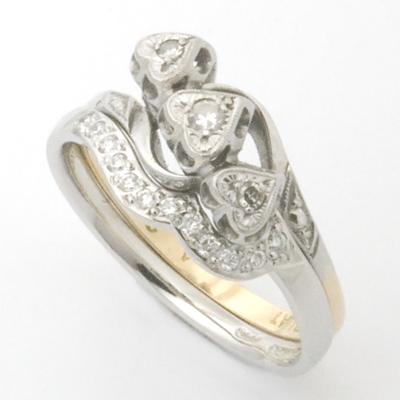 Platinum Fitted Wedding Ring Set with Diamonds 2.jpg