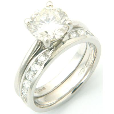 Platinum Channel Set Diamond Fitted Wedding Ring 2.jpg