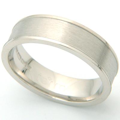 Brushed Palladium Gents Wedding Ring 2.jpg