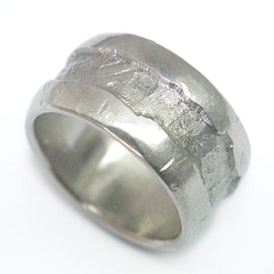 Gents Palladium Textured Wedding Ring 1.jpg