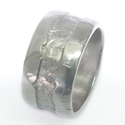 Gents Palladium Textured Wedding Ring 3 - Copy.jpg