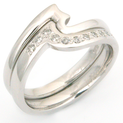 18ct White Gold Fitted Eternity Stacker Ring 1.jpg