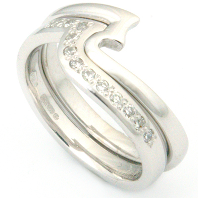 18ct White Gold Fitted Eternity Stacker Ring 3.jpg