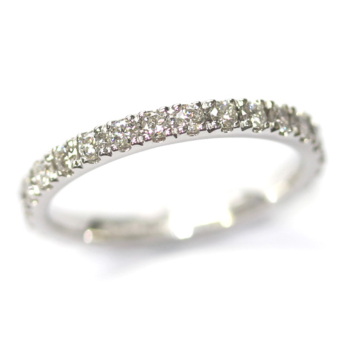 18ct White Gold Diamond Set Eternity Ring.jpg