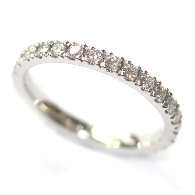 18ct White Gold Diamond Set Eternity Ring 2.jpg