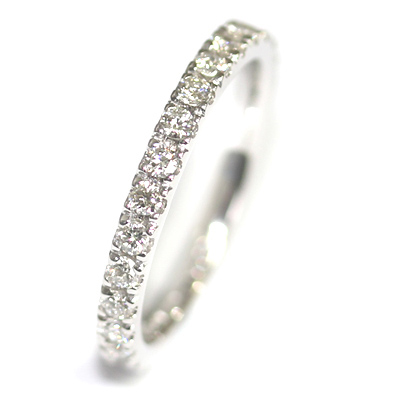 18ct White Gold Diamond Set Eternity Ring 3.jpg