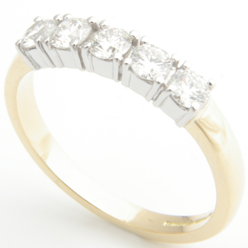 18ct White and Yellow Gold Eternity Ring.jpg