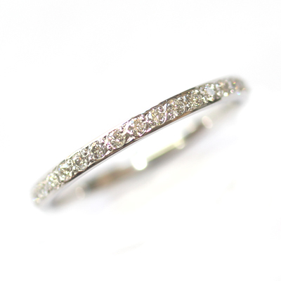 18ct White Gold Grain Set Diamond Eternity Ring 1.jpg