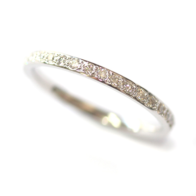 18ct White Gold Grain Set Diamond Eternity Ring 3.jpg
