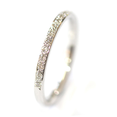 18ct White Gold Grain Set Diamond Eternity Ring 5.jpg