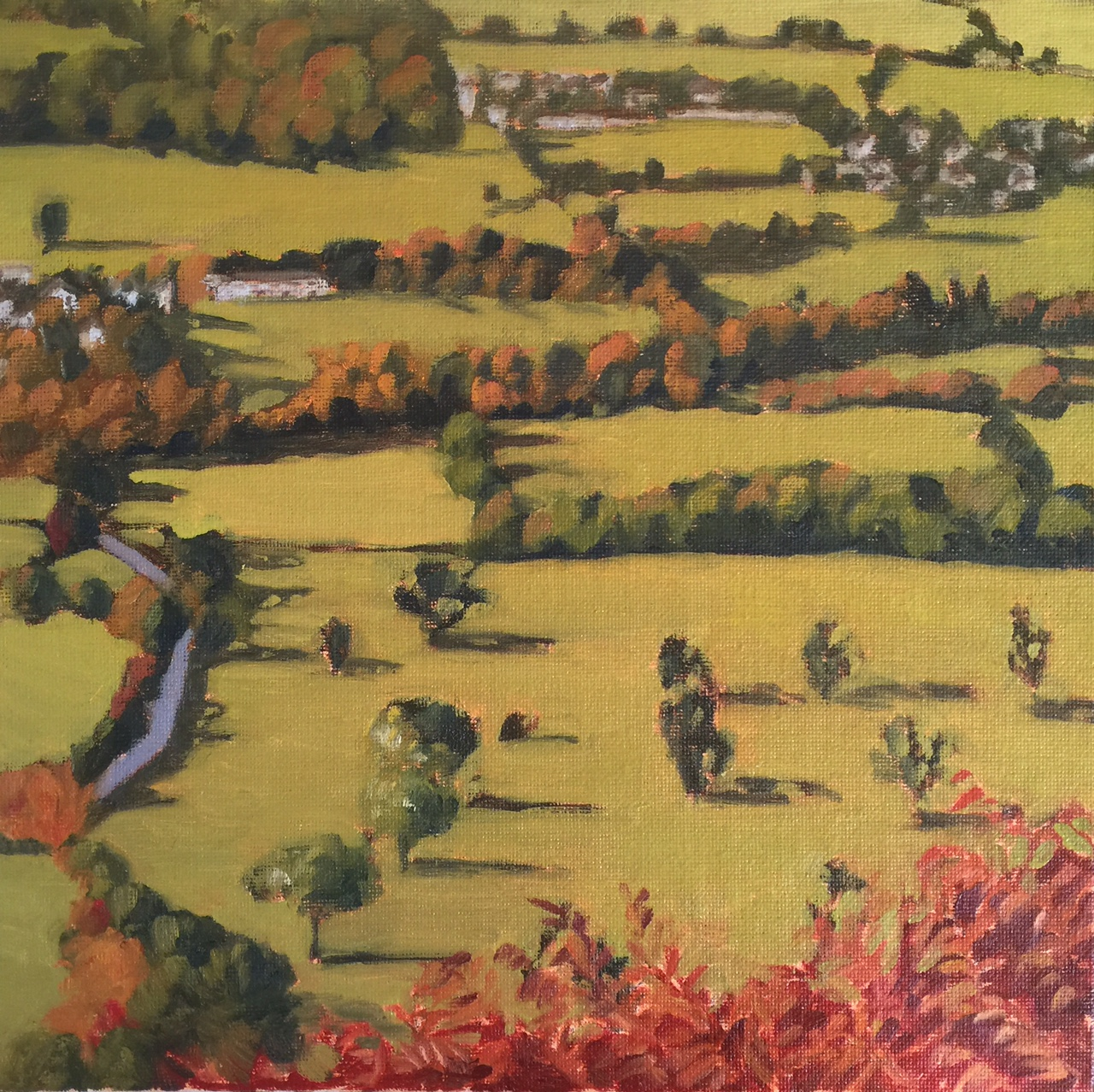 A Cumbrian View (oils) 25x25cm Inspired from walking in the Lake District.jpg