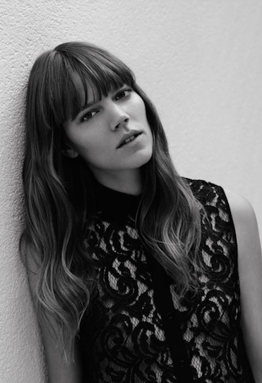 """VOGUE - """"I love to have massages, I think it's really important to relax"""" - Freja"""
