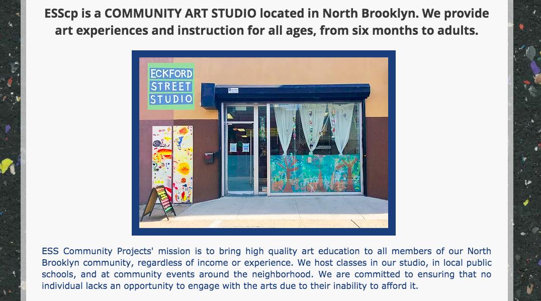 Eckford Street Studio School -