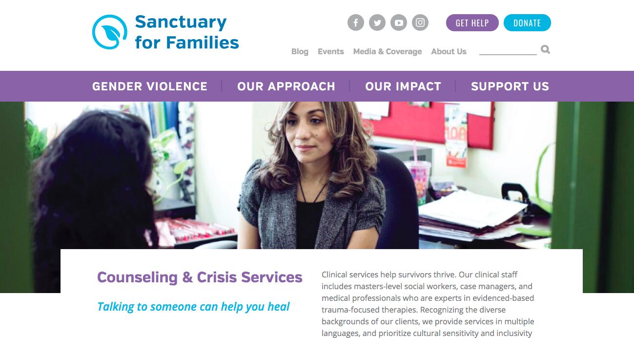 Sanctuary For Families -