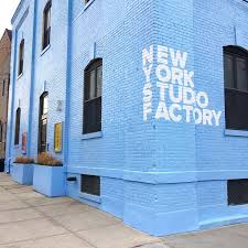 Located Inside the New York Studio Factory Building