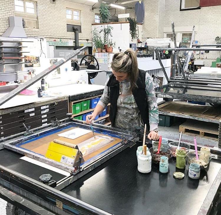 Printing at Edinburgh Printmakers