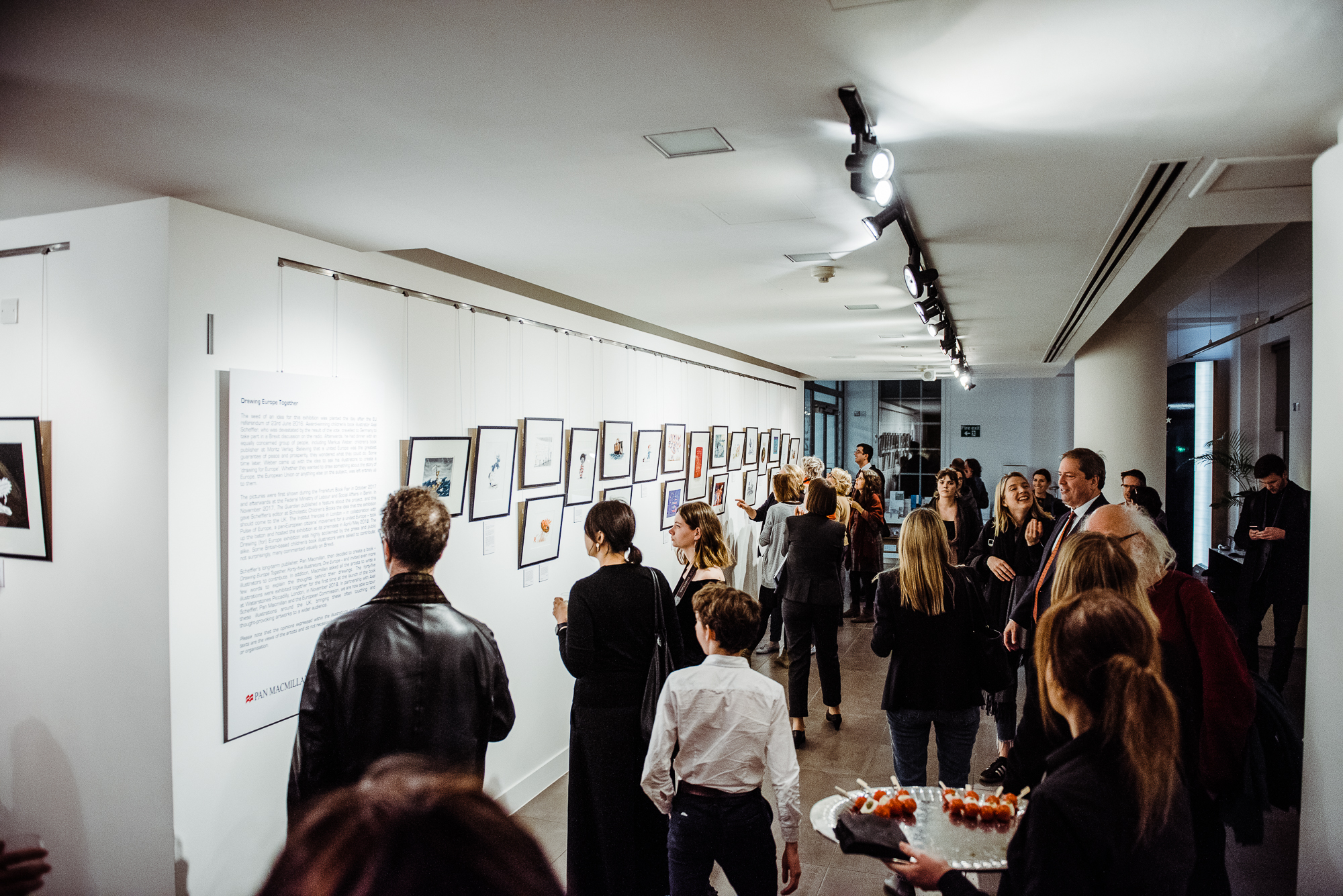 Photo from the exhibition opening.