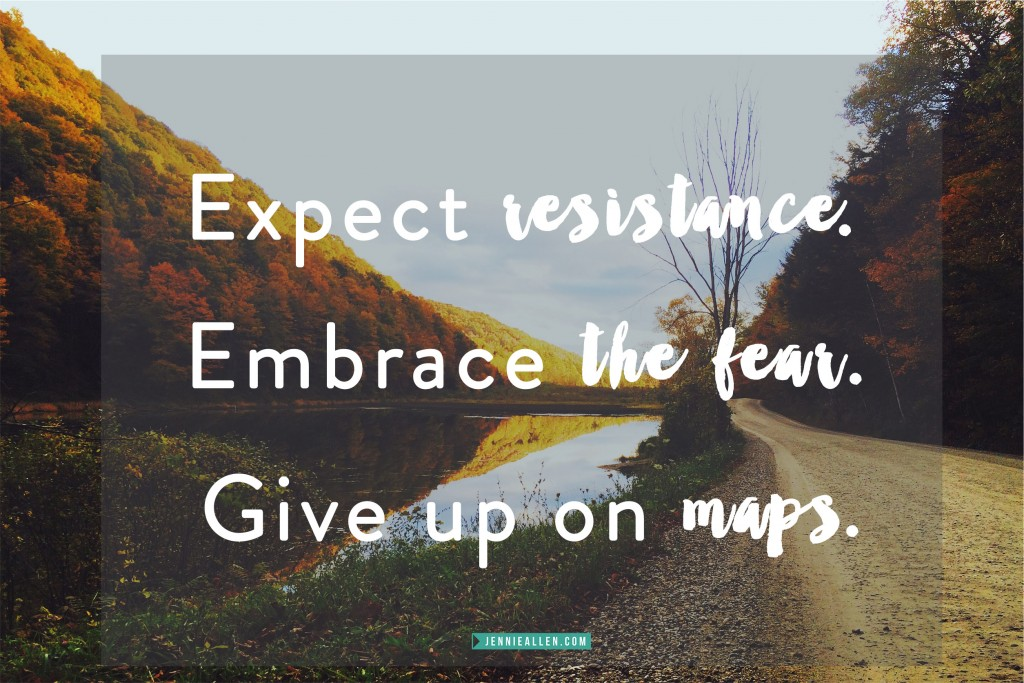 Expect Embrace Give Up