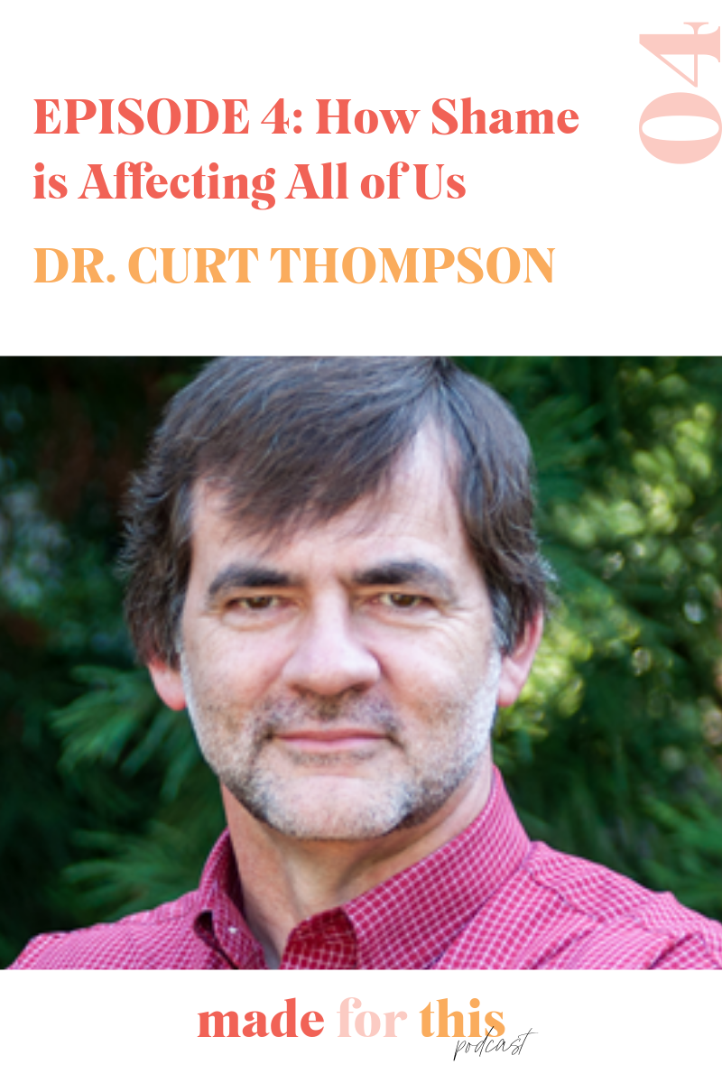 Dr Curt Thompson+Shame+Jennie Allen+Podcast+Friendship+Isolation+Christian Women
