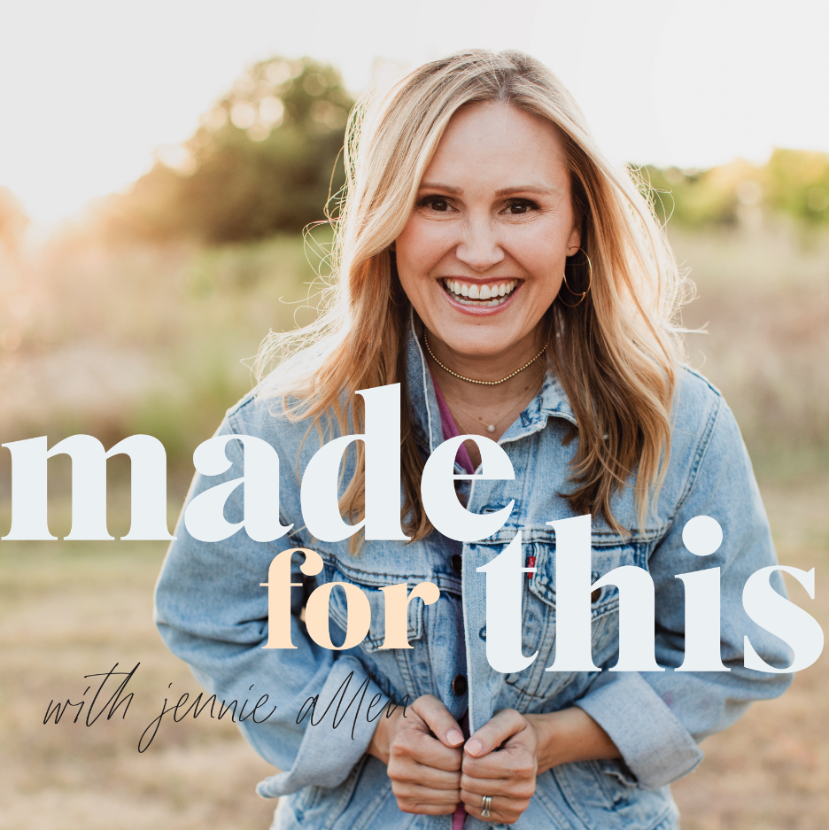 LISTEN TO JENNIe's PODCAST - SHORT. FUN. TRUTH. REAL CONVERSATION ABOUT THE STRUGGLES WE FACE AND THE GOD THAT SETS US FREE.LISTEN NOW