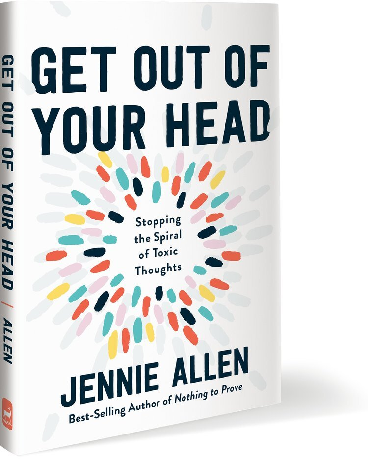 Image result for Get out of your head by Jannie Allen pic without background