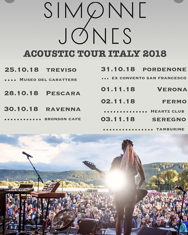 I added some dates Italy!