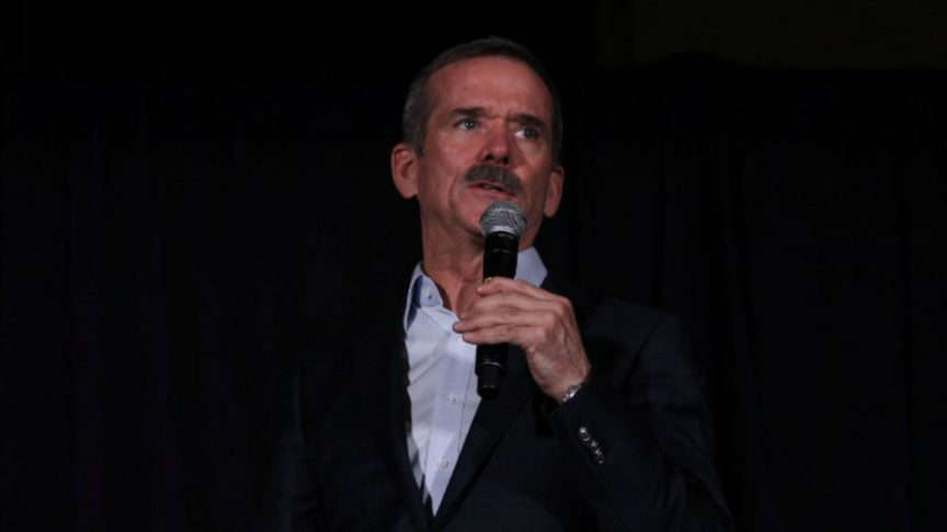 Canadian Astronaut Chris Hadfield Speaks and Sings at Ryerson - The Eyeopener | November 4, 2018
