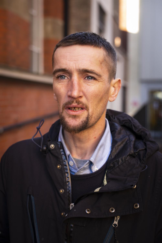 Jake.  Homeless.  Grimsby