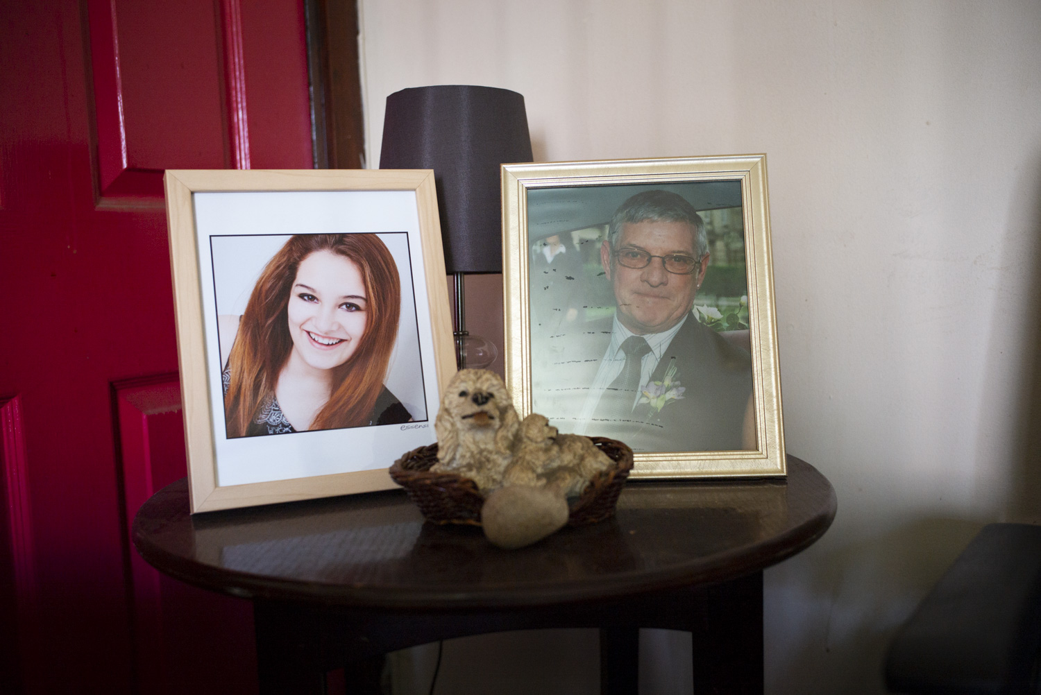 Portraits of Andy's Daughter and Father (Deceased)