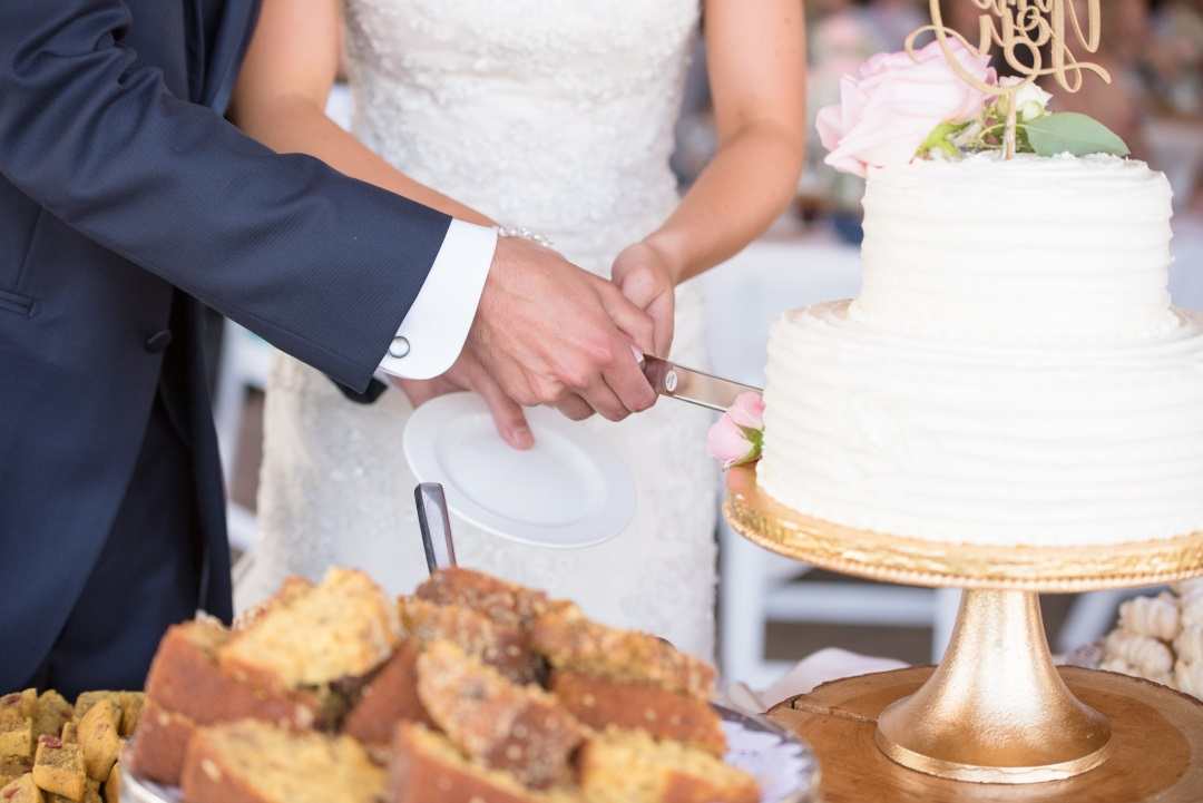 cutting cake at reception.jpg