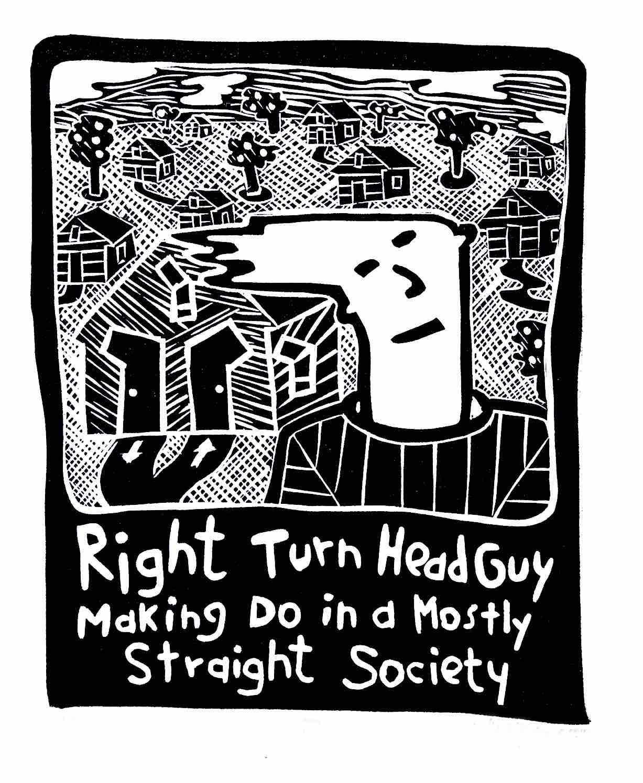 Right Turn Head Guy