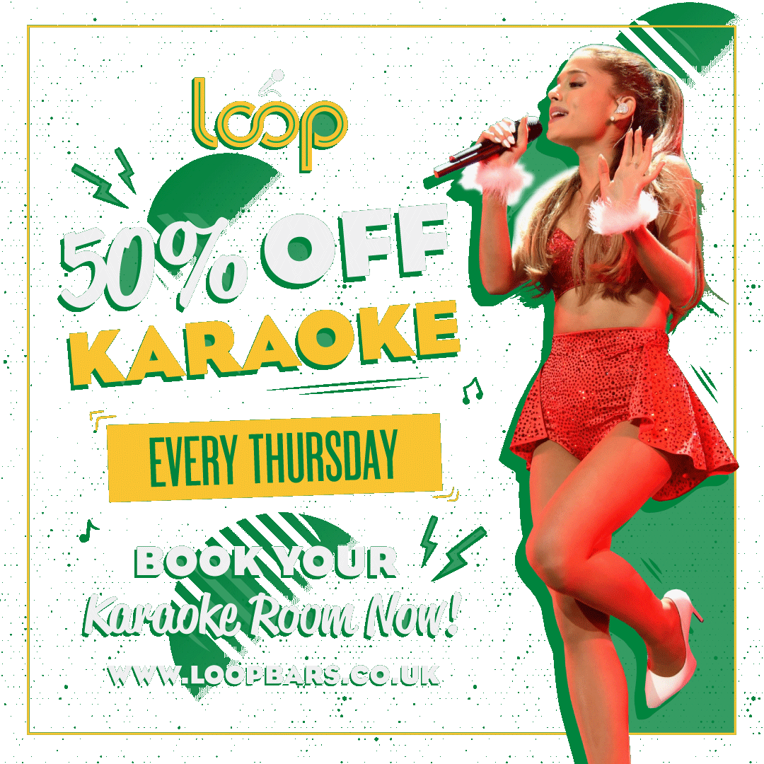 want a thursday treat? - 50% off karaoke on thursdays…thats £6 per person for two hours of karaoke heaven… or hell, depends on who you are singing with