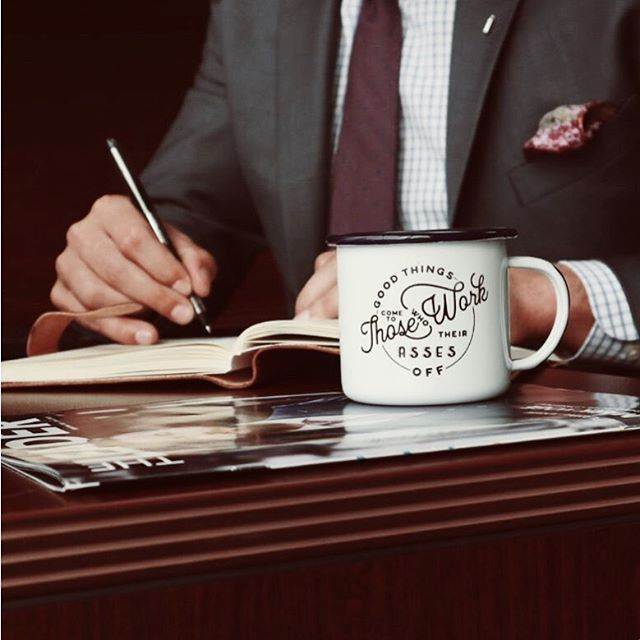Mugs tell the truth these days! ☕️ 👀 . . . #mondaymotivation #motivation #goodmorning #riseandgrind #grindtime #coffee #mug #coffeetime #noexcuses #workhard #photooftheday #alpha #abainc #leadingthepack #alphabusinessacquisitions #🐺