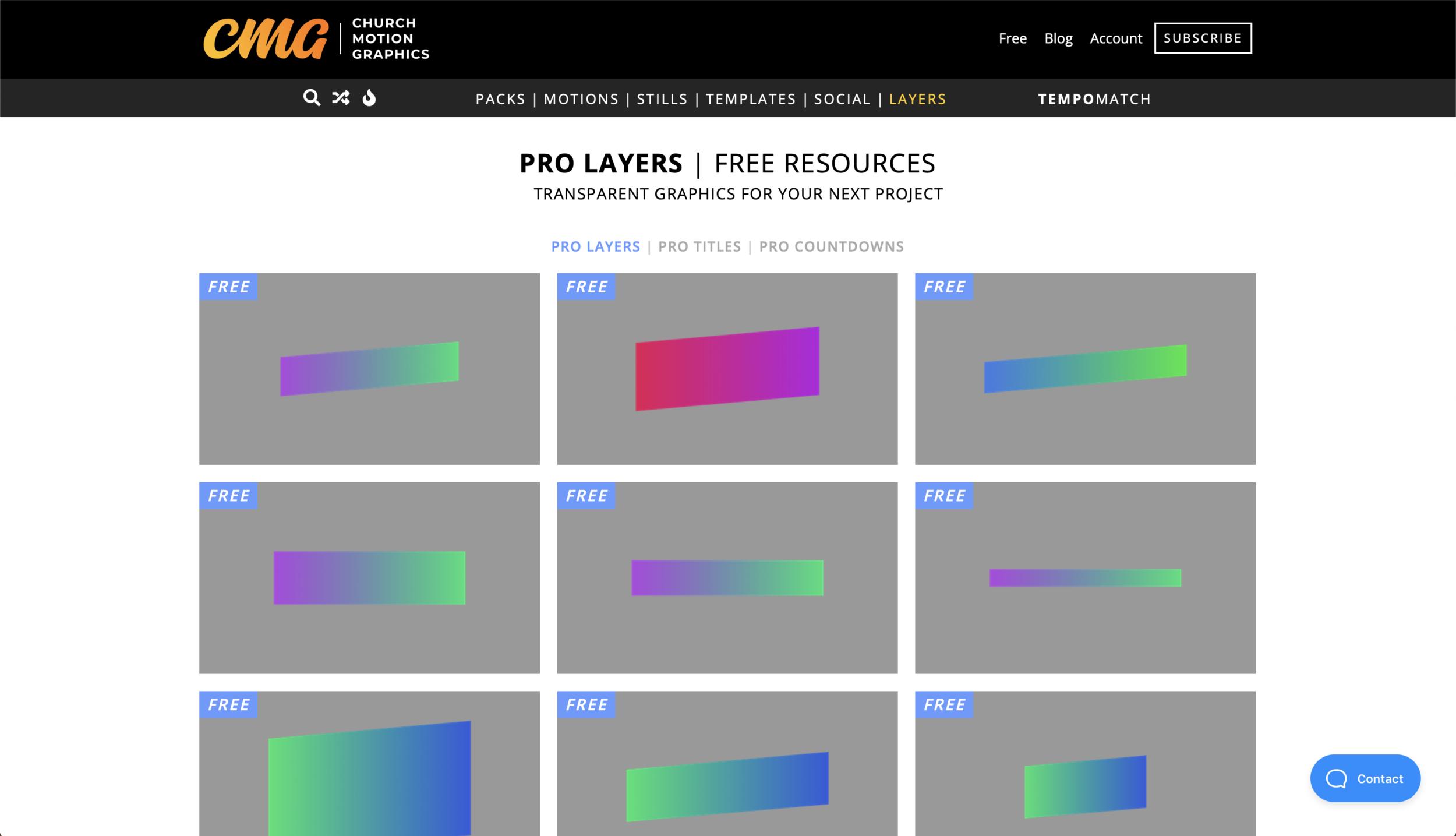 Church Motion Graphics - Shop — CREATIVE HUB