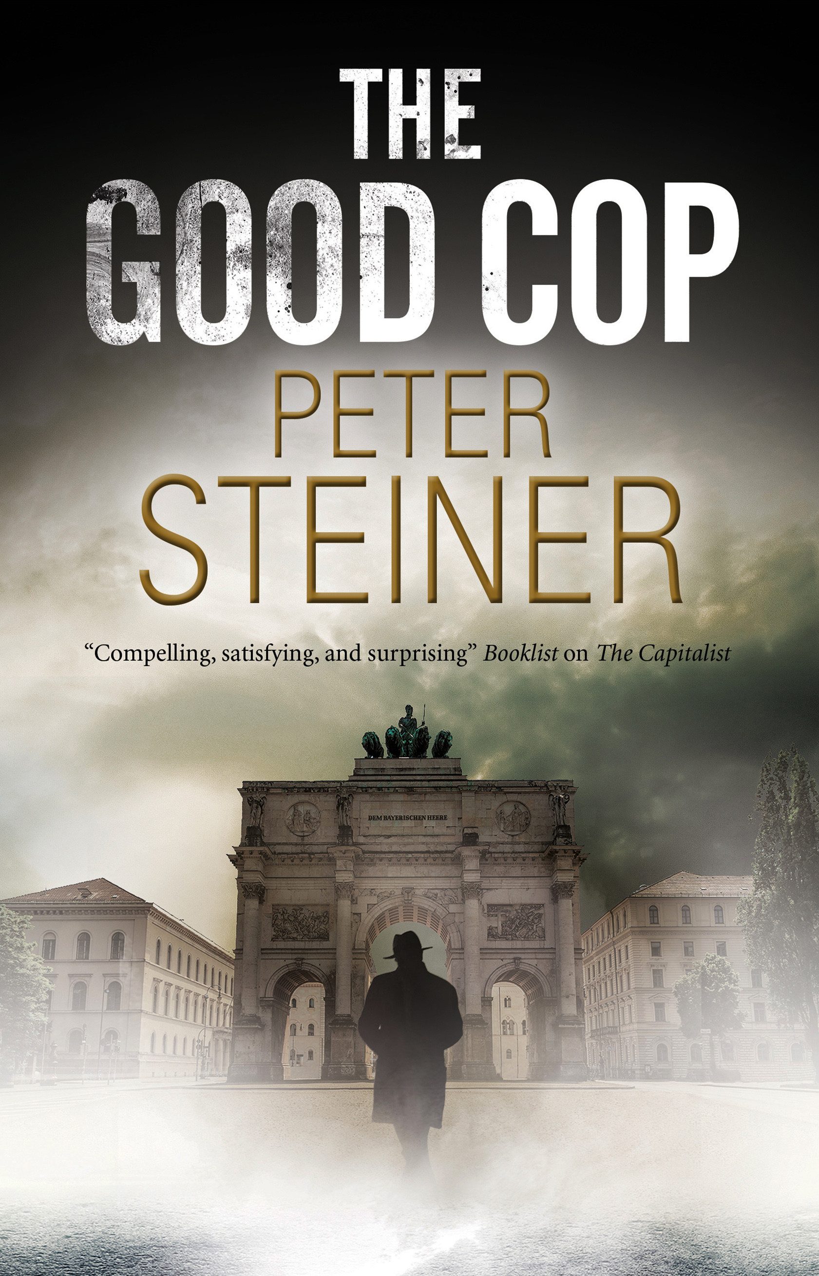 THE GOOD COP,to be published by SEVERN HOUSE,September, 2019.The novel takes place in Weimar Germany as Hitler is on the rise. To obey the law can be dangerous, but to disobey can cost you your life. -