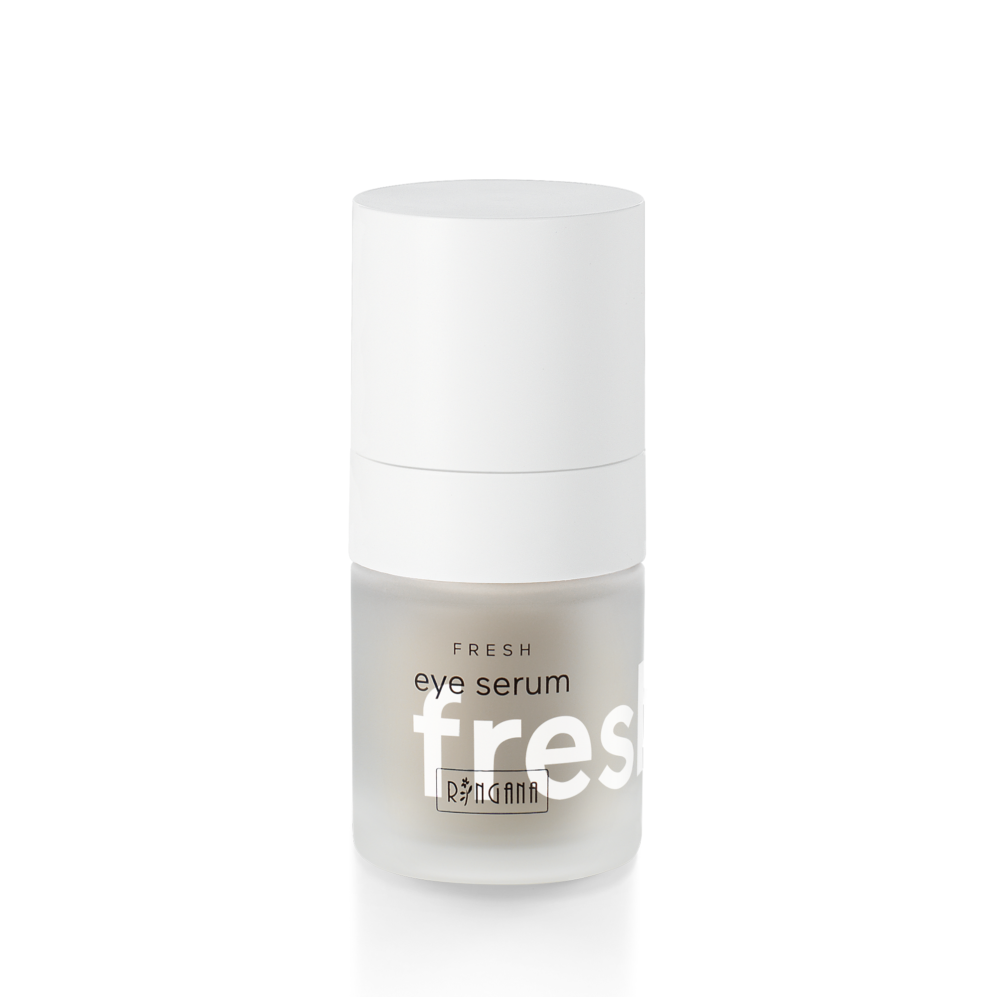 FRESH eye serum - Eye serum15 ml - € 39,10The skin around our eyes is particularly thin and sensitive. Swellings and dark circles often appear as signs of stress and tiredness. FRESH eye serum has an instant refreshing, firming effect and helps reduce swelling.