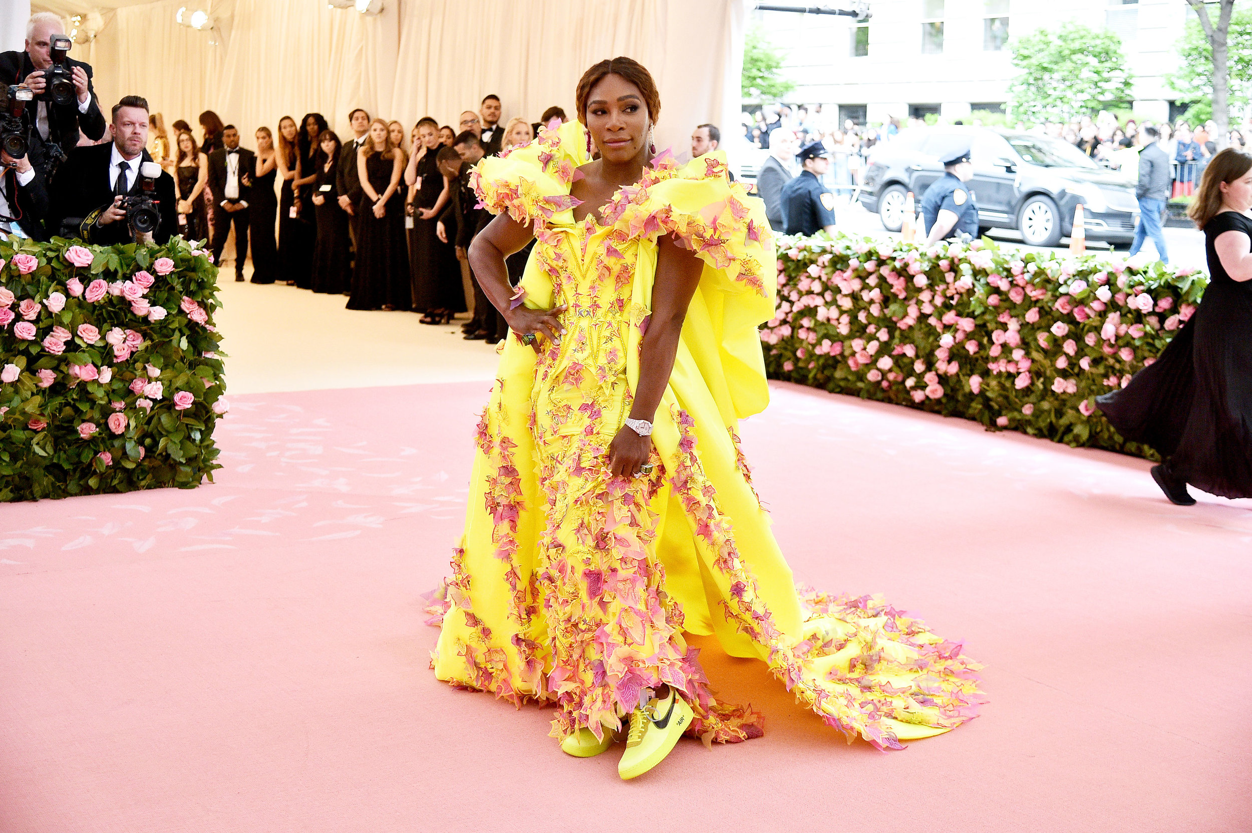 Serena Williams at the Met Gala 2019