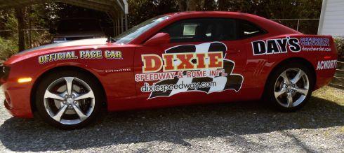 Dixie speedway pace car.jpg