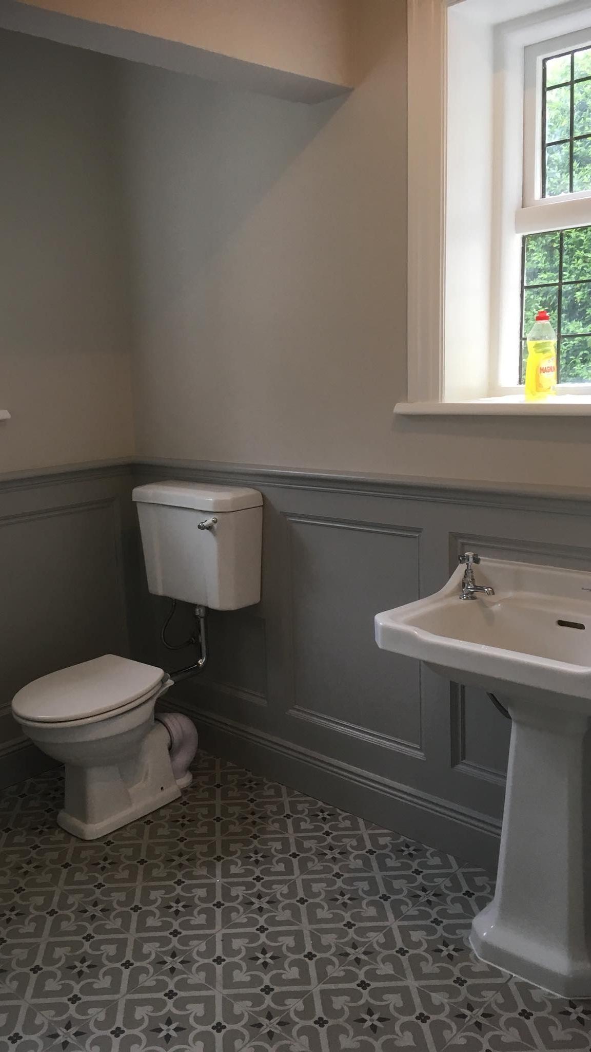 Bathroom renovation - victorian bathroom