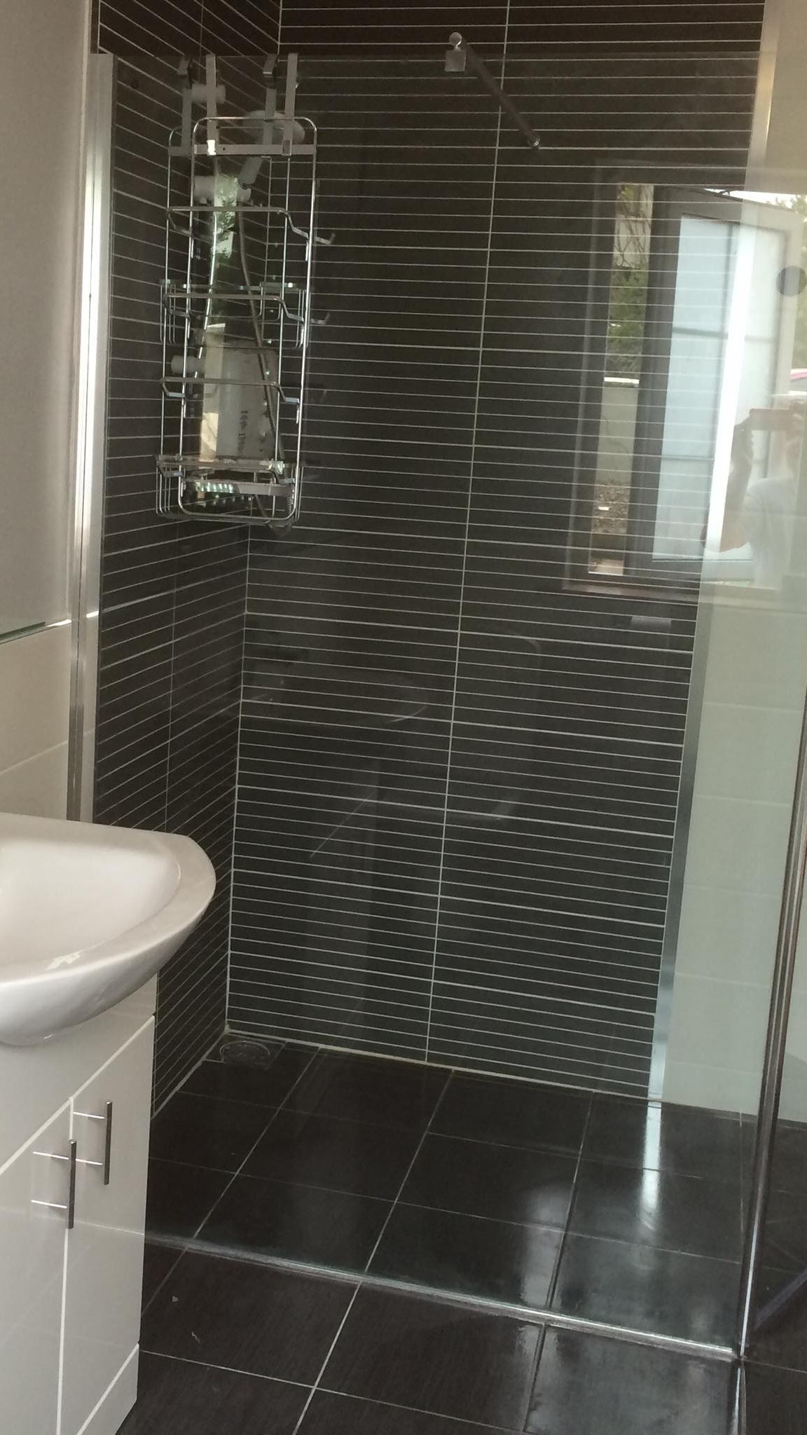 Bathroom renovation - walk In shower