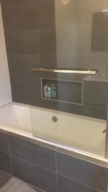 Bathroom renovation - Bath and Tiles